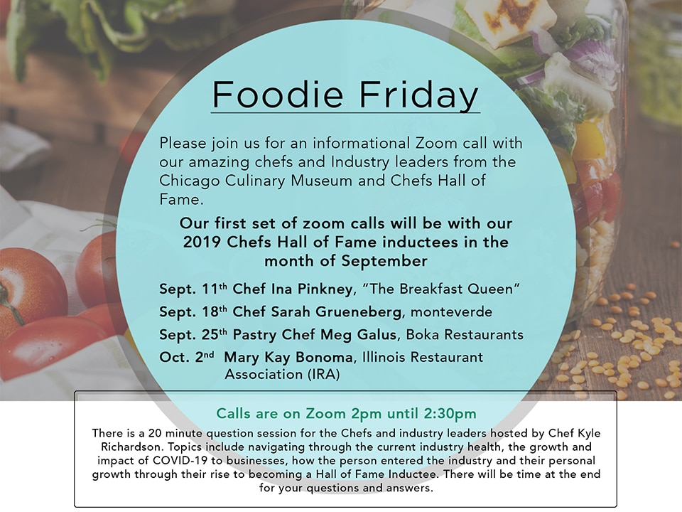 Foodie Friday Flyer